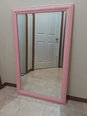 Pink Mirror for Sale in Berea, OH