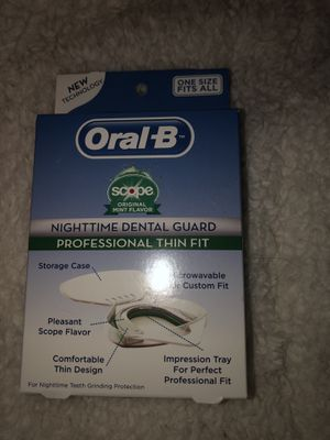 Oral B Night Time Dental Guard Brand New for Sale in Maynard, MA