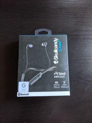 New skullcandy method wireless sport headphones for Sale in West Sacramento, CA