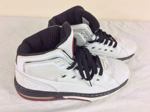 NIKE AIR JORDAN OL' SCHOOL 317223-162 WHITE VARSITY RED BLACK Men's size 10 2007 Shoes for Sale in Severn, MD