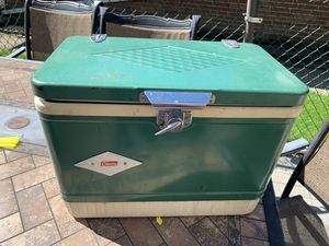 Vintage Coleman Diamond Cooler for Sale in Palos Hills, IL