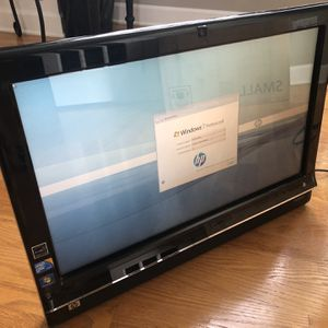 HP Touchsmart All-in-1 Touchscreen computer for Sale in Plainfield, IL