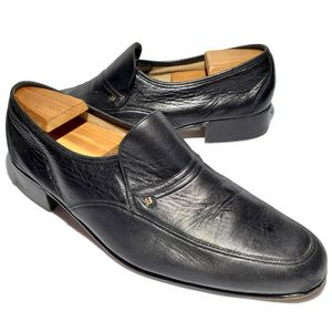 Bally Shoes Men's Size 10.5 Loafers Leather Made in Switzerland Slip On for Sale in West Columbia, SC