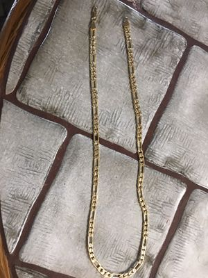 24in gold chain for Sale in Calimesa, CA