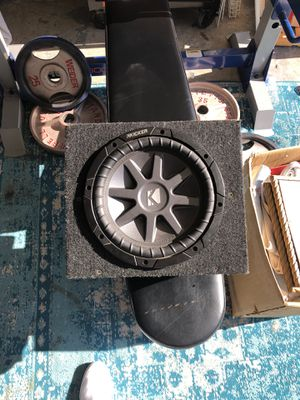 """10"""" kicker subwoofer for Sale in San Marcos, CA"""