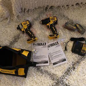 Dewalt Atomic Drill Driver Set w/ batteries for Sale in Bellevue, WA