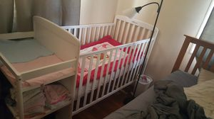 Crib used once 150 for Sale in Rockville, MD