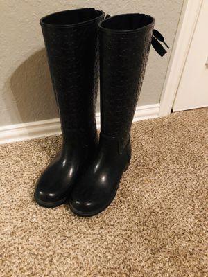 Coach rain boots for Sale in Midlothian, TX