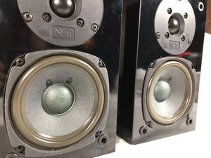 NHT Monitor bookshelf speakers for Sale in Sunbury, OH
