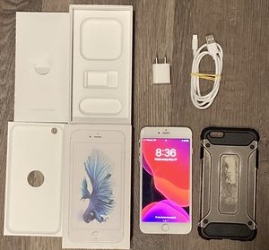 iPhone 6s Plus 64 GB White/Silver carrier unlocked Global A1687 for Sale in Portland, OR