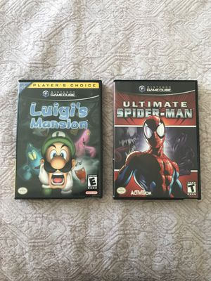 Luigi's Mansion and Ultimate Spider-Man for Sale in Corona, CA