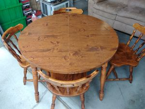 Table and four chairs for Sale in Manson, WA