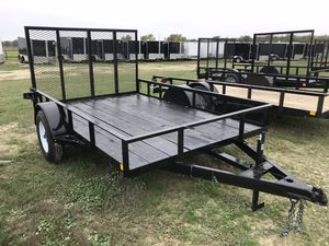 6x12 Gated Utility Trailer for Sale in Austin, TX