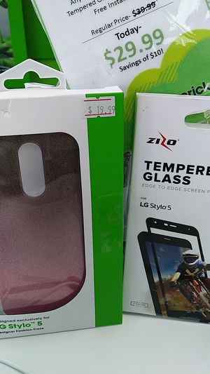 Screen protector and case for Sale in Silsbee, TX