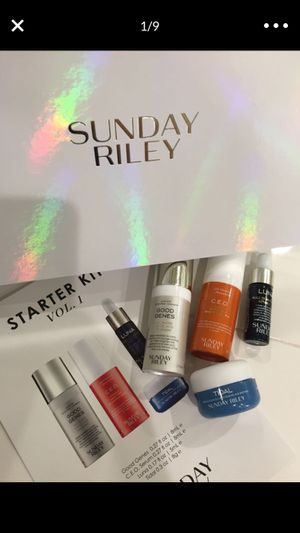 Sunday Riley Skincare Set for Sale in Highland, CA