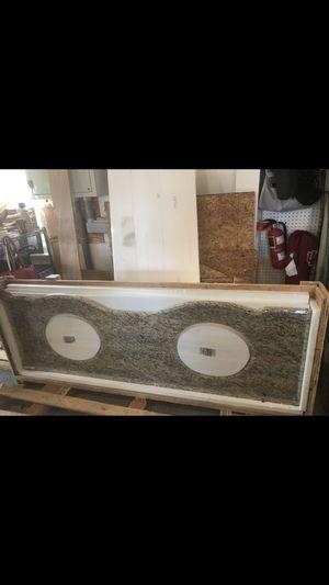 Double Granite Bath Vanity for Sale in Frederick, MD
