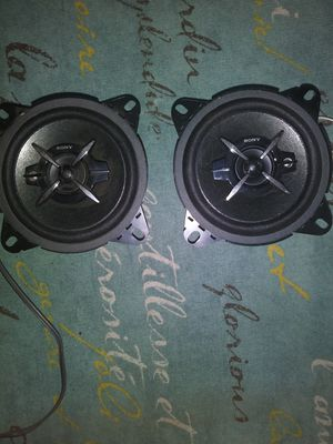 "Sony car speakers 4"" for Sale in Gulfport, FL"