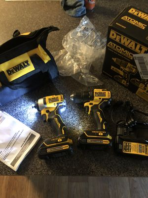 Dewalt 20 v max atomic impact and drill for Sale in Thornton, CO