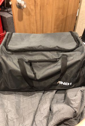 AND1 Duffle Bag in Grey & Black for Sale in Creedmoor, TX