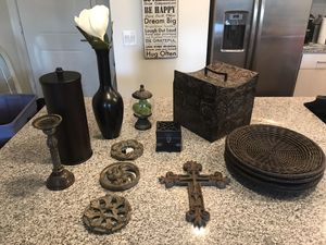 Espresso and Rustic Home Decor for Sale in Chandler, AZ