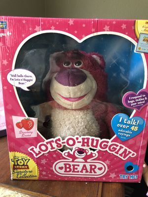 Toy story signature collection lotso huggin bear for Sale in OR, US