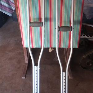 Aluminum Crutches for Sale in St. Petersburg, FL