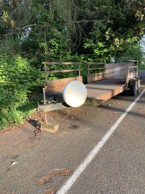 Double Axle Heavyduty trailer(18'x6'2) for Sale in Seattle, WA