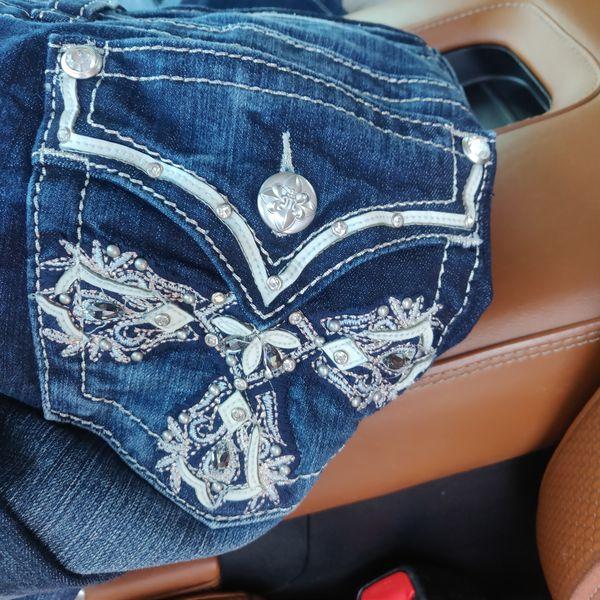 Women's Miss Me Chloe Boot Jean size 31/34 inseam