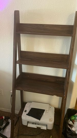 5 foot wooden ladder shelf for Sale in Phoenix, AZ