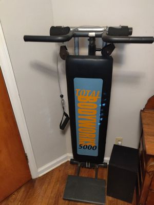 Total Bodyworks 5000 Gym Workout for Sale in Decatur, GA