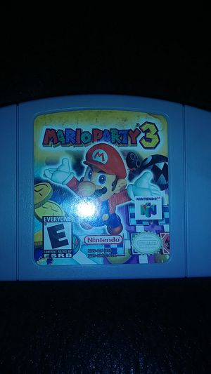 Mario party 3 n64 for Sale in Hilliard, OH