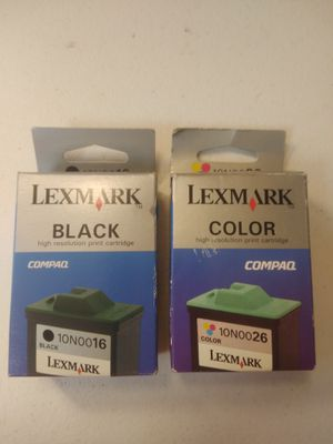 Lexmark 16 26 Black and Color Printer Ink for Sale in Grand Rapids, MI
