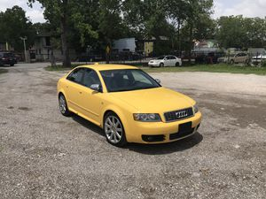 2004 S4 Audi Automatic Transmission Quattro turbo lather seats everything works great runs great 8 cylinder cold AC clean title looks excellent nothi for Sale in Houston, TX