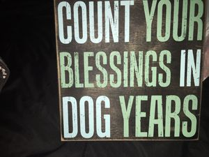 Count Your Blessings Wall Decor for Sale in Staunton, VA
