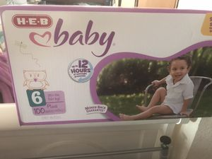 Heb diapers size 6 for Sale in Georgetown, TX