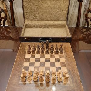 Handcrafted Persian Chess × Backgammon board for Sale in Vienna, VA