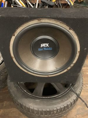 "Mtx 15"" for Sale in Boston, MA"