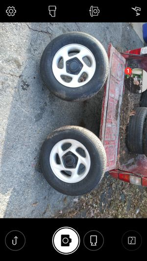Wheels and tires 2 for Sale in Edgewood, MD