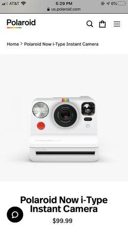 New polaroid now camera for Sale in Ocala,  FL