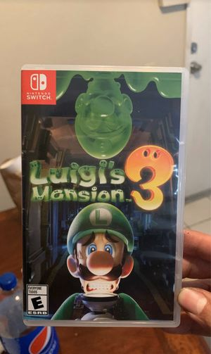 Nintendo switch Luigis mansion 3 $45 (pre owned) for Sale in Victorville, CA