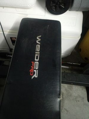 Weider Pro weight brench for Sale in Durham, NC