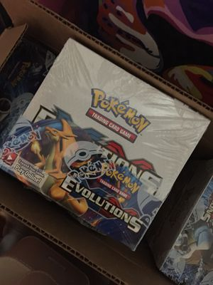 Pokemon XY Evolutions Booster Box Sealed for Sale in Orlando, FL