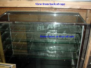 Glass display Case from Fredrick and Nelson for Sale in Seattle, WA