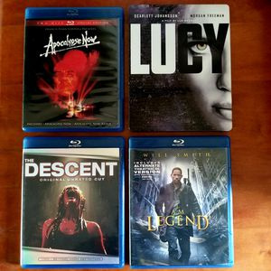 Blu-ray movie Lucy is a steelbook all 4 perfect condition for Sale in Cypress, CA
