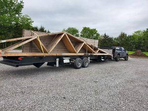 40 ft gooseneck tiny house trailer for Sale in Kansas City, MO