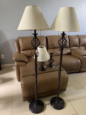 4 piece lamp set for Sale in Stockton, CA