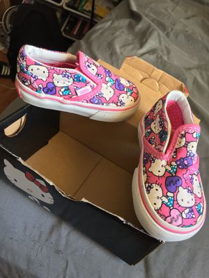 Hello kitty baby shoes for Sale in San Jose, CA