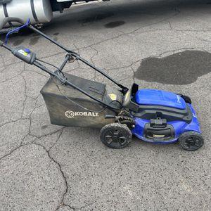 Kobalt 21' Electric Mower for Sale in Glendale, AZ