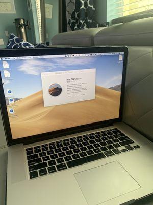 "2013 MacBook Pro 15"" i7,16gb ram, 512 SSD, retina. for Sale in Boynton Beach, FL"