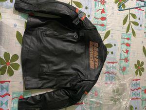 Harley davidson motorbike leather jackets for Sale in Alexandria, VA